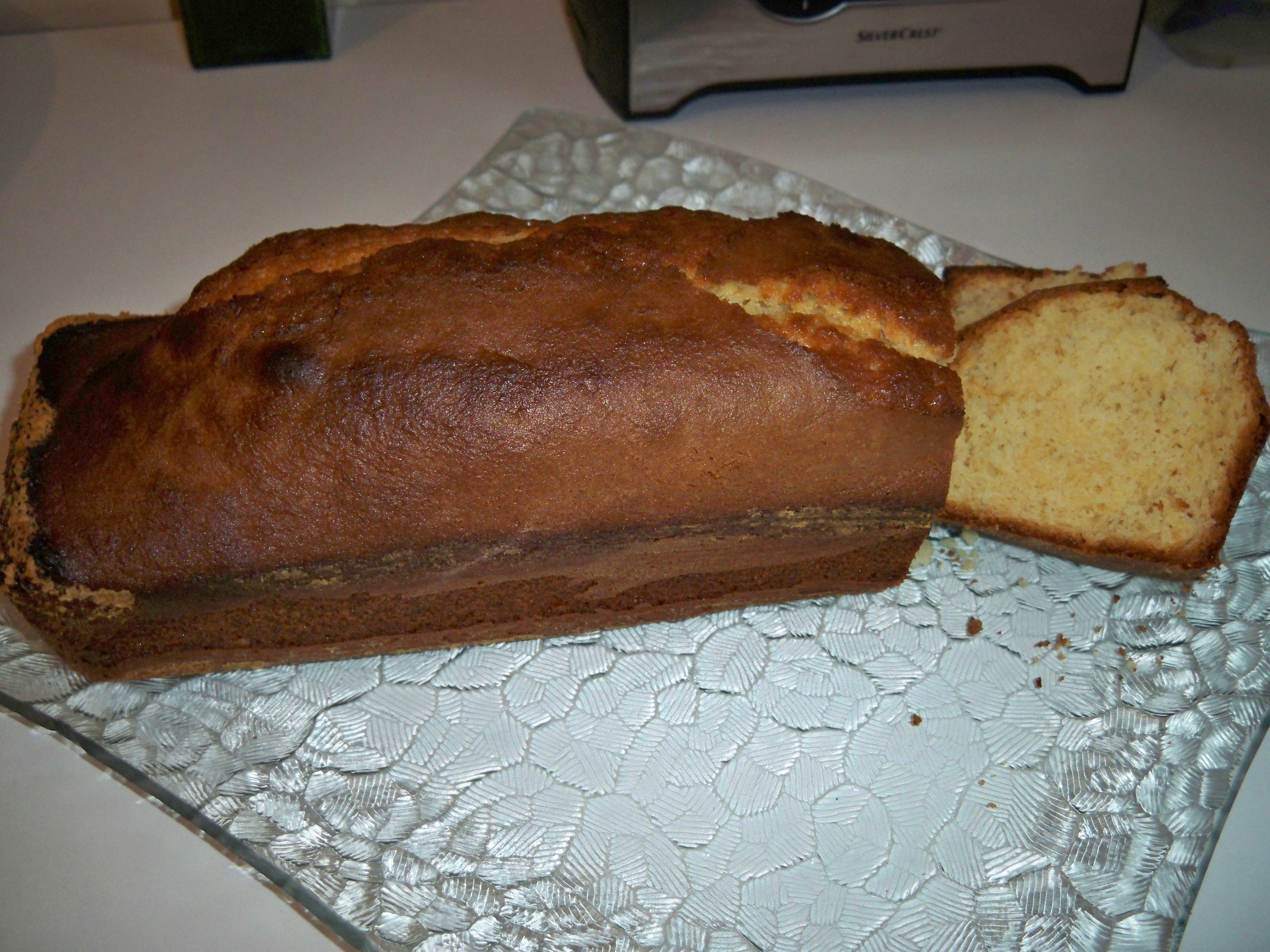 Gâteau danette au caramel